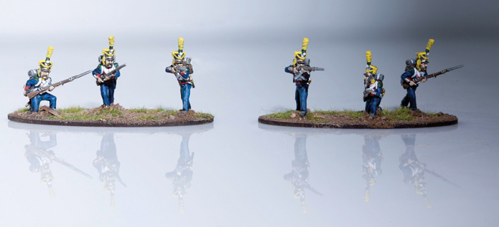 Full dress skirmishers