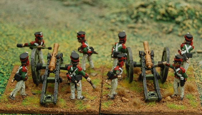Duchy of Warsaw – Artillery crew loading or firing
