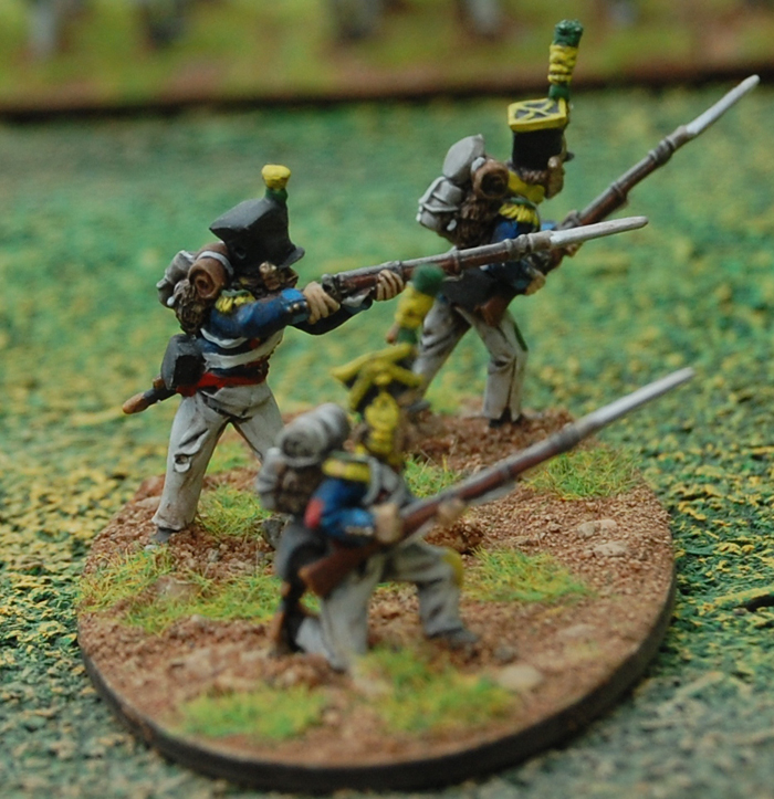 "Duchy of Warsaw – Skirmishers/Voltigeurs in Campaign Dress ""Scruffy"""