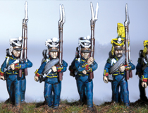 Full dress painted at the 4th regiment