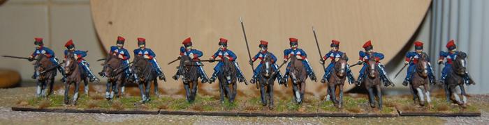 Krakus 12 figure Regiment