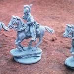 BADEN CAVALRY UNIT 12 MODELS 12 HORSES BADEN CAVALRY  £45