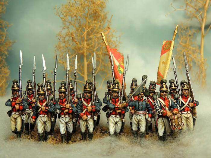 Baden line infantry