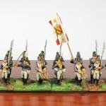 Grand Duchy of Baden, 2nd Regiment, 1st Battalion