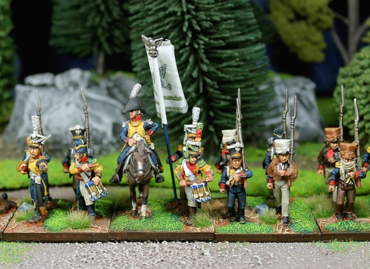 2nd battalion, 1st infantry regiment of the Duchy of Warsaw
