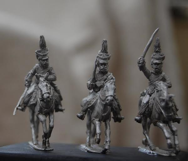 Duchy of Warsaw – Hussars 16 figures regiment