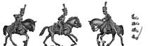 Uhlan line company – Post 1810