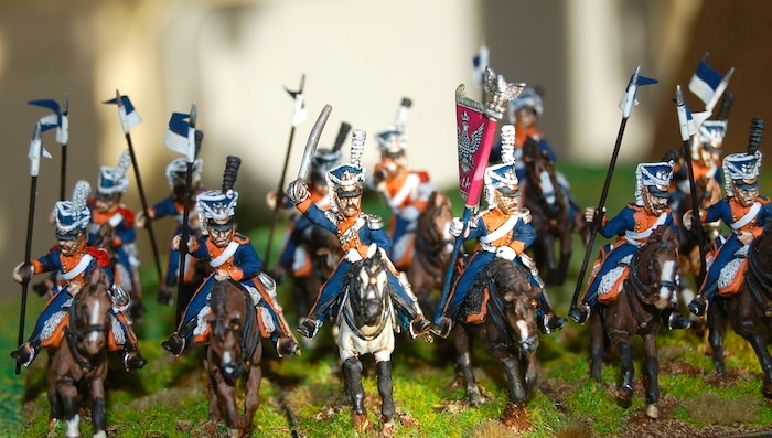 Uhlan 24 figure Regiment  – Post 1810