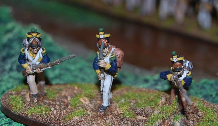 Vistula Legion – Voltigeur skirmishers